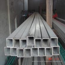 Tubo de aço retangular de andaime de aço galvanizado