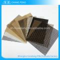 Venda da fábrica vária amplamente utilizado tecido de malha de fibra de vidro strengh elevado