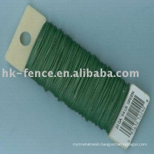 PVC straining wire/ plastic coated wire/vinyl wire/ PVC wire