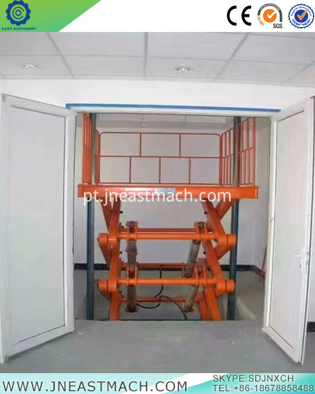 High Quality Stationary Scissor Lift