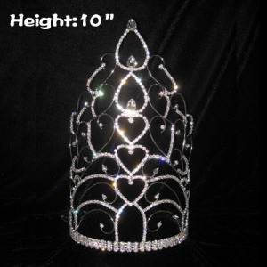 10in Big Tall Wholesale Pageant Crowns