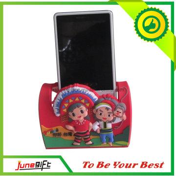 Custom Cheap PVC Phone Holder