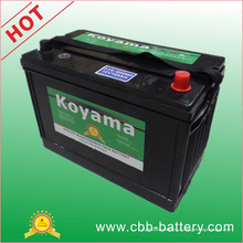 12V100ah Премиум-качество Koyama Mf Аккумулятор Bci 31A-800mf