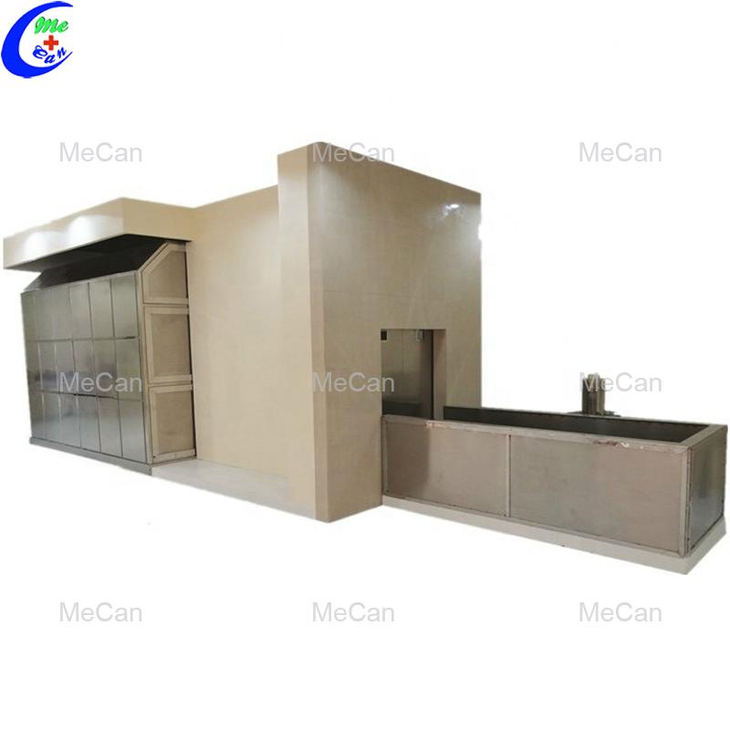 Human cremation machine