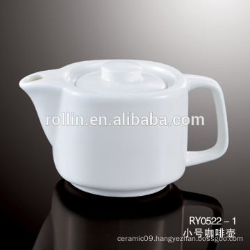 Hot sell Restaurant Ceramic coffee cup Tea, Porcelain Pot Coffee Set, Commercial Crockery Tea & Coffee Pot