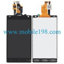 para LG Optimus G E970 Pantalla LCD con toque digitalizador