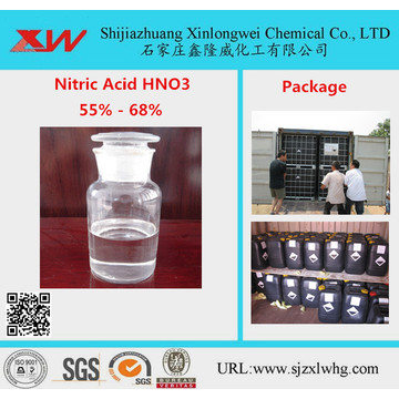 Inorganic Chemicals Price Of Nitric Acid 65% 63% 68%