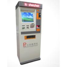 Máquina terminal del quiosco de la pantalla táctil de la impresora de la foto del pago de cuentas al aire libre