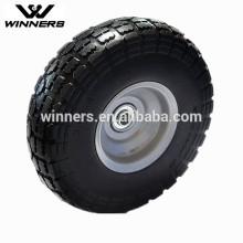 Ruedas de espuma PU, 4.10 / 3.50-4 neumático de la PU de la rueda