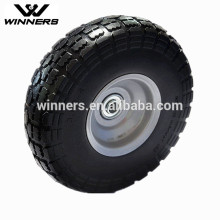 PU Foam wheels,4.10/3.50-4 PU tire tyre
