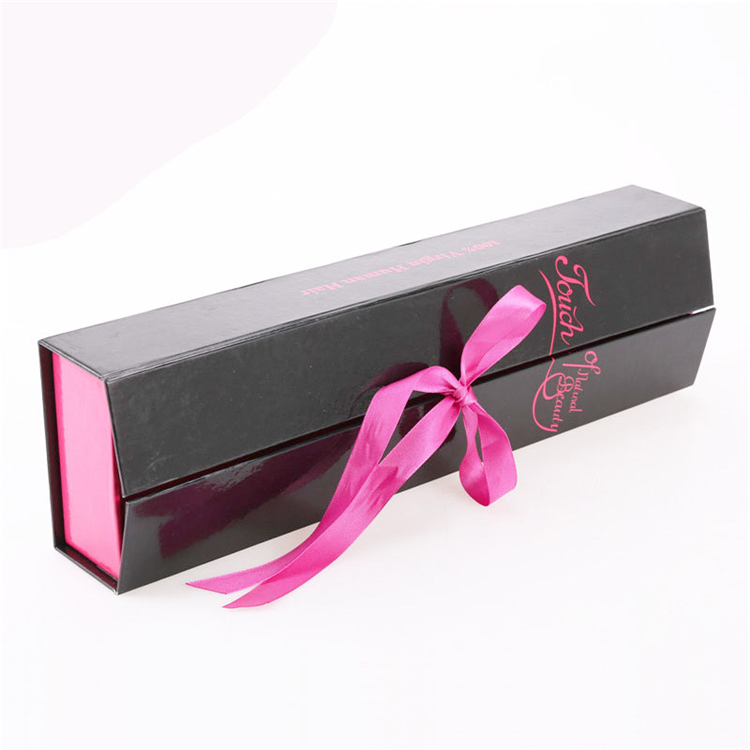 Disposable Cardboard Paper Hair Packaging Boxes