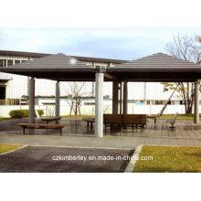 Umweltfreundlicher, ökologischer, grüner WPC-Pavillon