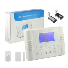 Security Wireless GSM Smart Home Alarm,Intelligent Wireless GSM Alarm control System,Wireless GSM SMS touch Pad LCD display