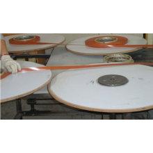 Bandas de borde de color de madera