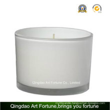 Printed Glass Scented Jar Candle for Wholesale