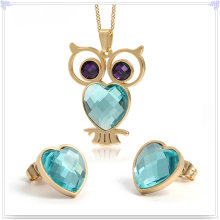 Fashion Accessories Fashion Jewelry Stainless Steel Jewelry Set (JS0221)