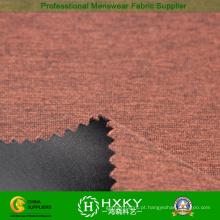 Duplo 200d camadas Cation composto de tecido de poliéster para jaqueta ou casaco acolchoado