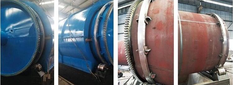tyre pyrolysis plant reactor