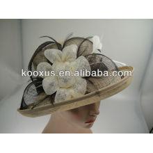 Sombrero sinamay barato de la iglesia al por mayor