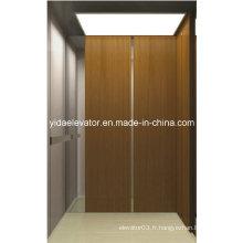 Prix compétitif Ascenseur de passager avec miroir Acier inoxydable