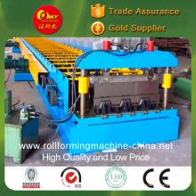 Máquina formadora de rolos de plataforma de treliça de barra de aço