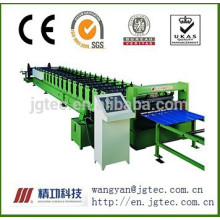 Series floor deck forming machine