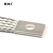 Conector de trança de bateria de carro encalhado conector de fio de cobre