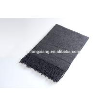 Vente en gros dernière conception 100% laine châle