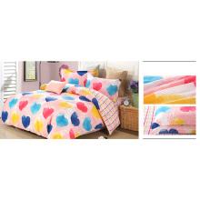 Venta caliente bordar conjuntos de edredón / juego de cama F1732