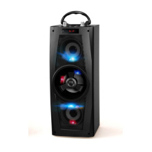 Hot Sale LED Wooden Karaoke Party Speakers
