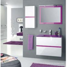 Armario de baño de diseño de PVC Moden con fregadero