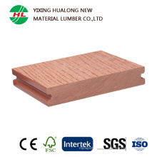 Decking sólido impermeável de WPC com alta qualidade (HLM40)