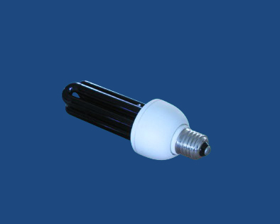 2U 3U Black Light Blue Lamp