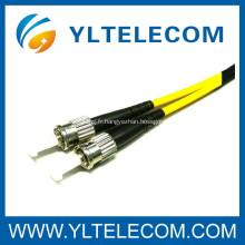 ST LSZH fibre optique cordon câble SM MM disponible pour réseau CATV FTTH