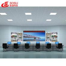 Video wall LCD Full HD de 5.3 mm