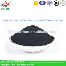 Carbón activado a base de aserrín de alta calidad para la venta