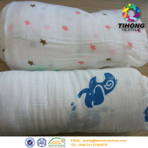 double sided BABY diaper fabric