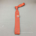 Perfect Knot Mens Fashion Silk Skinny Knitted Tie Dot