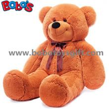 Große Plüsch Braun Bär Puppe Weiche Spielzeug als Kinder Tag Geschenk