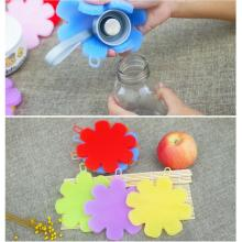 Silikon Flower Brush för rätter Pot Soft Scrubber Sponge