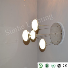 classical crystal ball stylish design setting room led pendant ceiling light dimmable