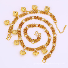 Xuping 24k ouro banhado a moda jóias Cadeias Set (61690)