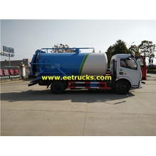 8cbm 4x2 Waste Vacuum Trucks