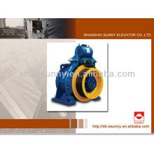 Série de 1600-2500kg SN-MCG350 de máquina de tração de elevador de mercadorias