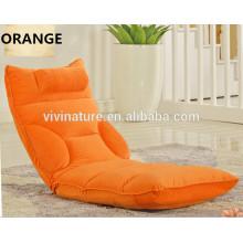Sala de estar Moda Criativa Camurça Lazer Sofá \ Personalizar Cor Casa Relaxar Único Sofá Cadeira \ lazer Moderno Piso Sofá assentos