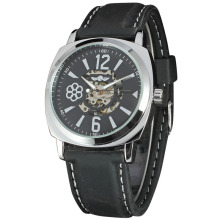 custom with your logo men watch with flower pattern dial