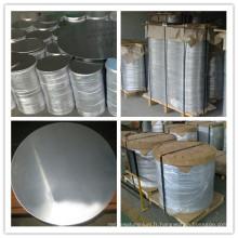 Laminés à chaud pour le cercle de feuille d'aluminium de dessin profond pour des ustensiles