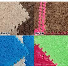 Peluche tapis mousse de bas prix eva tapis de ventes en gros