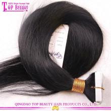 Melhor Extensões coloridas do cabelo da fita da vara Extensões invisíveis novas do cabelo da fita Extensões indianas do cabelo da fita de Remy dos produtos de beleza