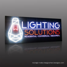 Building business 3d logo signage customized LED backlit channel letter sign 3D outdoor waterproof RGB full color backlit logo